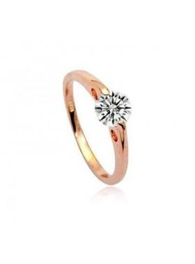Кольцо Нежное с кристаллом Swarovski