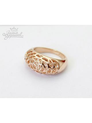 Кольцо Бутон розы