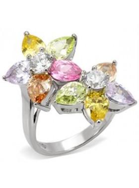 Кольцо Цветочная композиция
