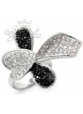 Кольцо Лепестки Эдельвейса