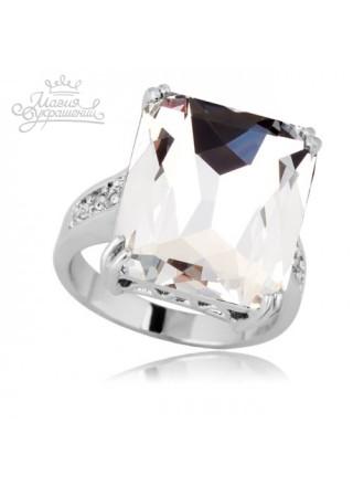 Кольцо Прозрачный фианит