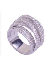 Кольцо Модница Micropave фианиты