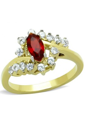 Кольцо Рубиновая заря