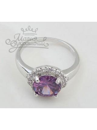Кольцо Фиолетовый блеск