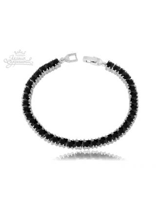 Браслет Черная змейка