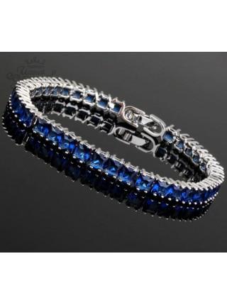 Браслет Синяя змейка
