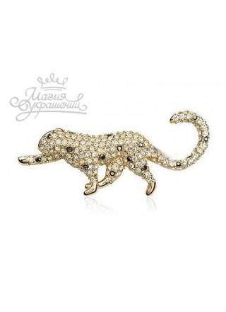 Брошь Леопард
