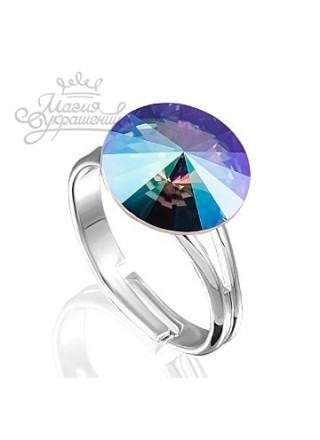 Кольцо с кристаллом Swarovski Paradise Shine