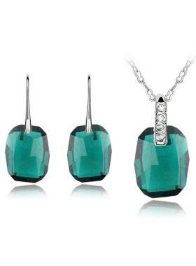 Комплект с крупными кристаллами Emerald