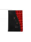 """Обложка для паспорта """"Knicksen"""" со Swarovski из кожи"""