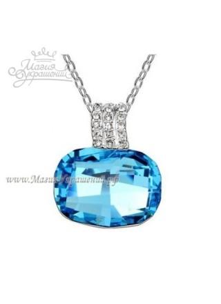 Подвеска с горизонтальным кристаллом Blue