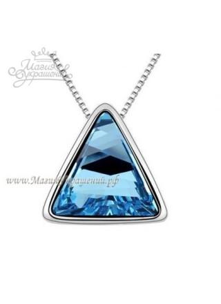 Подвеска Треугольник Blue