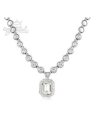 Ожерелье с кристаллами Swarovski