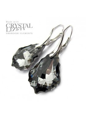 Серьги Baroque Black Diamond