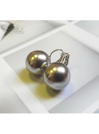 Серьги Жемчужные шары