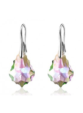 Серьги Барокко со Swarovski кристаллами Paradise Shine